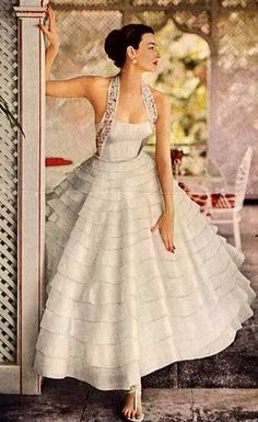 Layered Skirt 1950's