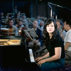 Martha Argerich is a legend of the classical music world. - The Washington Post Best Classical Music, Piano Man, Miles Davis, Video Film, Sound Of Music, Music Notes, Music Stuff, Art Music, Orchestra