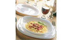 Bormioli Parma étkészlet, 18 részes - Étkészletek - Teritettasztal.com Áruház Parma, Spaghetti, Ethnic Recipes, Food, Meal, Essen, Hoods, Meals, Eten