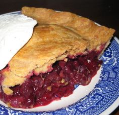It was as yummy as it looks. - Blueberry Pie