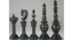 Dyed Camel Bone Chess Set Antique Design Reproduction. http://www.chessbazaar.com/chess-pieces/bone-chess-pieces/dyed-camel-bone-chess-set-antique-design-reproduction.html