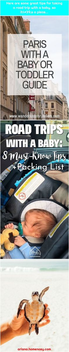 Here are some great tips for taking a road trip with a baby, so it's a pleas… Baby Travel, Toddler Travel, Great Hotel, Paris Hotels, Traveling With Baby, Sri Lanka, Travel Tips, Road Trip, Travel Advice