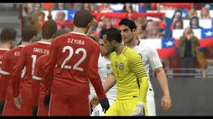 Russia vs Chile | International Friendly Match HD PC Gameplay PES 2017 S...