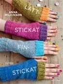Lättstickat - finstickat / Anna Wilkinson  #boktips #faktabocker #handarbete #stickning