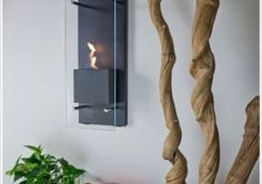 Nu-Flame Cannello Wall Mounted Fireplace – give your blank space some warmth and style