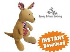 Kangaroo INSTANT DOWNLOAD Sewing Pattern PDF