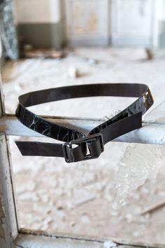 Crux Buckle Classic Crash Leather Belt