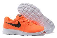 online retailer 08508 3edc3 2018 Authentic Nike Tanjun Se 844908 801 2017 New Shoes Orange Black Noir  White blanc EUR