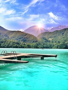 Lago di Barcis, Northern Italy, near borders of Slovenia and Austria