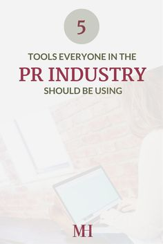 5 Tools Everyone in the PR Industry should be using - if you're majoring in PR or want to work in PR, check out these tools I use to help!