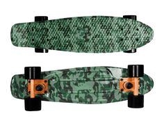 "Zycle Fix Mayhem 22"" Penny Style Skateboard (Camo Green)"