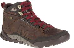 Shop the latest collection of Merrell Men's Annex Trak Mid Waterproof Hiking Boot from the popular stores - all in one Best Hiking Boots, Hiking Boots Women, Hiking Shoes, Hiking Gear, Steel Toe Safety Shoes, Steel Toe Work Boots, Pull On Boots, Boots Store, Hiking Fashion