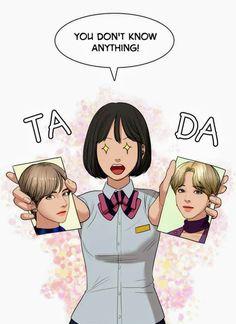 Sua | True Beauty #webtoon #bts Line Friends, Just Friends, Real Beauty, True Beauty, Romance, Cute Kawaii Drawings, Webtoon Comics, Kpop Fanart, Pixel Art
