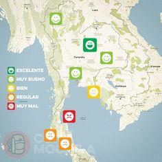 El tiempo en Tailandia en NOVIEMBRE