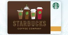 A Starbucks Gift Card is a convenient way to pay and earn stars toward rewards. This online gift card is a great gift for coffee lovers. Buy one now!