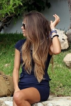 mechas californianas....