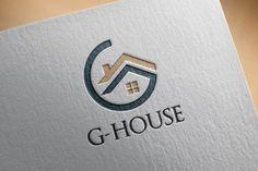 4 Circle G - House Home Realty ~ Logo Templates ~ Creative Market Arquitectura Logo, Kreis Logo, Inmobiliaria Ideas, Logo Branding, Branding Design, Logo Image, Property Logo, What Is Fashion Designing, Logo Minimalista