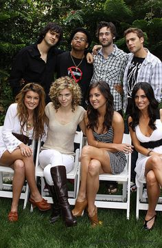 90210: Shenae Grimes, AnnaLynne McCord,Jessica Stroup, Jessica Lowndes, Dustin Milligan, Ryan Eggold, Tristan Wilds, and Michael Steger.