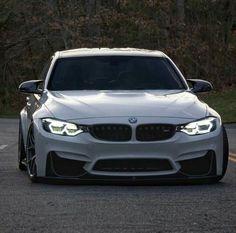 BMW F80 M3 white slammed