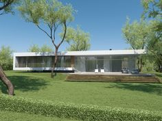 Individual modern Architectural design and concepts. Architecture Design, House Plans, Villa, Golf, House Design, Mansions, House Styles, Modern, Home Decor