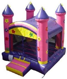 Flower Princess bounce house rentals as low as $79.00 a day. Unit dimensions are 13 X 13.