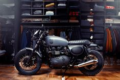 Looking back at theRenard Motorcyclesbuild portfolio it's easy to see why someone would want workshop owners Kaarel and Andres to build them a bike.