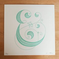 Jessica Hische - Beautiful ampersand, would love it as a tattoo