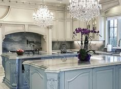 Likes, 86 Comments - Interior Design & Home Decor ( on. - Likes, 86 Comments – Interior Design & Home Decor ( on… – – - Source by bwisozkreinger decor luxury Elegant Kitchens, Luxury Kitchens, Beautiful Kitchens, Home Kitchens, Beach Kitchens, Small Kitchens, Dream Kitchens, French Country Kitchens, French Country House