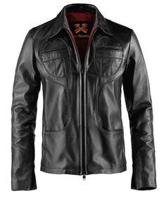 Soul Revolver Superfly Vintage Biker Leather Jacket – Black