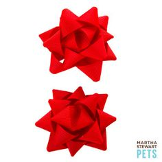 Martha Stewart Pets® Present Bow Holiday Hair Bows | Bandanas, Bows & Hats | PetSmart