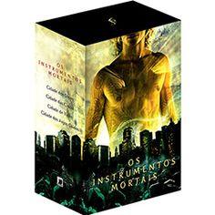 Livro - Box Os Instrumentos Mortais (4 Volumes) - Edição Econômica