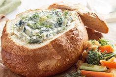 Spinach and leek cob dip Please a crowd with this delicious spinach and leek cob loaf dip. Spinach and leek cob dip Please a crowd with this delicious spinach and leek cob loaf dip. Cob Loaf Spinach Dip, Spinach Cheese Dip, Loaf Recipes, Dip Recipes, Sauce Recipes, Cooking Recipes, Cobb Loaf Dip, First Bread Recipe, Finger Food