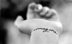 Tattoo Fonts For Girls   black, font tattoo, font tattoos, hand, imagine - inspiring picture on ...