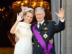 Meet the new king and queen of Belgium -- King Philippe and Queen Mathilde.  King Albert abdicated to crown Philippe new king of Belgium on 21 July 2013.