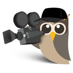 Búho dedicado en el sector #audiovisual #hootsuite