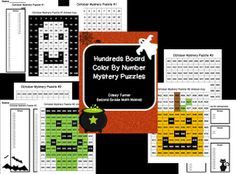 Hundreds Board Color By Number Giveaway: Ends at Midnight Tonight! (10/8/2012)