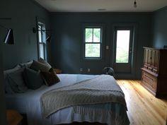 Oval room blue, natural light