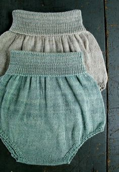 Baby Bloomers - The Purl Bee - Free Pattern: