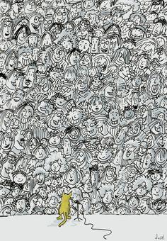 Cartoon: Cat Stevens Last Concert (large) by fussel tagged concert,audience,music,stevens,cat