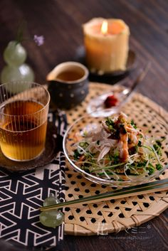 「和風棒棒鶏で初夏のスタイリング」 - 花ヲツマミニ