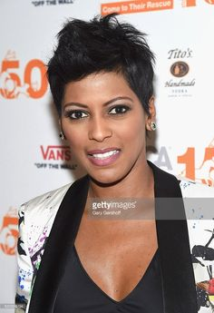 Event moderator Tamron Hall attends the 'Second Chance Dogs' screening in honor of ASPCA's 150th Anniversary at The House of Vans on April 10, 2016 in the Brooklyn borough of New York City.