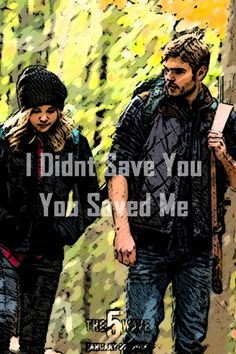 an edited version of the picture that i made, this features cassie and evan walking together and a sweet line that even walker says to cassie