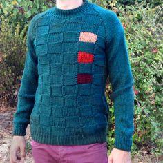 Knitting Charts, Knitting Patterns, Men's Knits, Mens Jumpers, Beading Patterns, Crochet Projects, Knit Crochet, Men's Fashion, Men Sweater