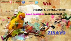 Create web pages design with your own style, Good Design is Good Business. ‪#‎zinavo‬[www.zinavo.com]