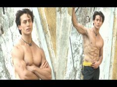 Tiger Shroff's STUNNING ripped body photoshoot video.