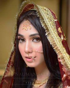 Pakistani Bridal, Indian Bridal, Soft Bridal Makeup, Arabic Makeup, Indian Fashion, Womens Fashion, Desi Wedding, Beautiful Bride, Girls Dresses