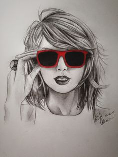 My 2nd portrait of Taylor Swift