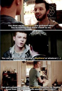 Gallavich + 'boyfriend' evolution