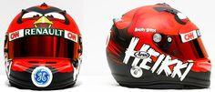 Angry Birds F1 Helmet by Heikki Kovalainen