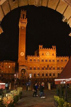 Siena, Italy by Andreas Sturmlechner
